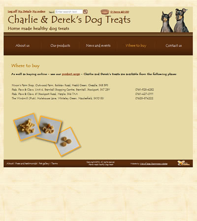 Charlie and Dereks dog treats 3